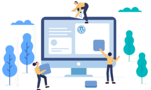 wordpress website design by Mocaup